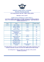 02-19-2021 Airport Authority Agenda
