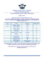 03-19-2021 Airport Authority Agenda